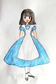 RQ: Sailor Moon/Hotaru as Alice in Wonderland