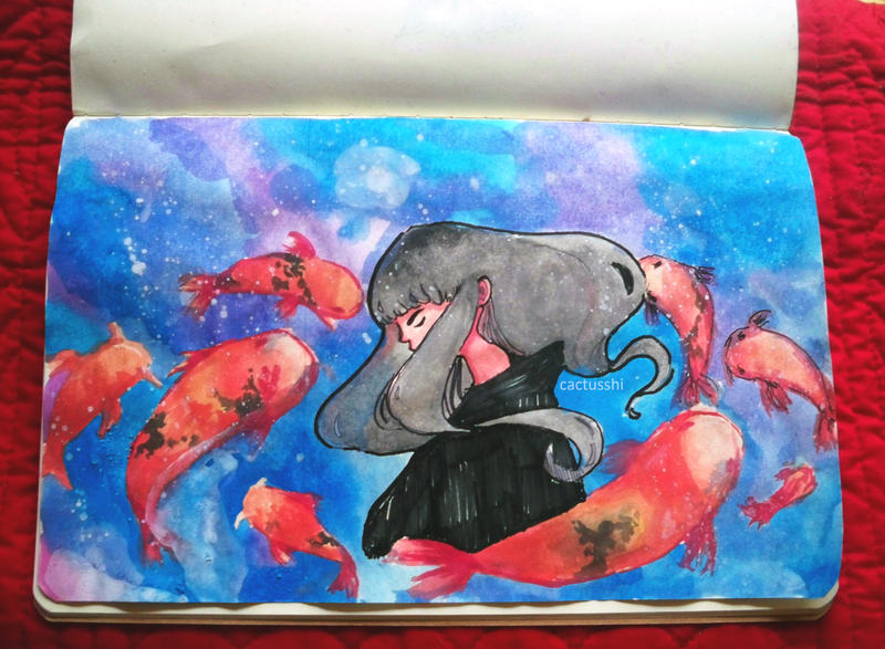 Big fish in a small pond by aurableed on deviantart for Big fish in a small pond
