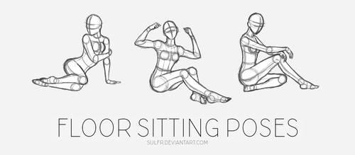 SpeedSketch: Floor Sitting Poses