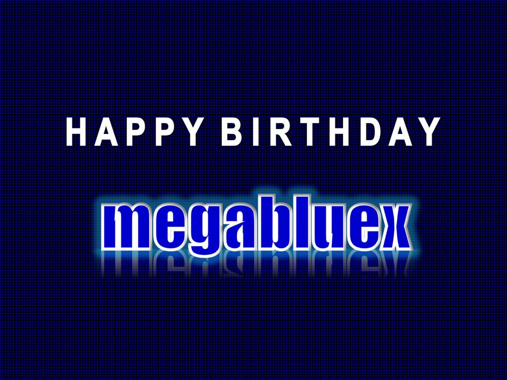 Birthday Gift #166: megabluex by ChrisTitan16