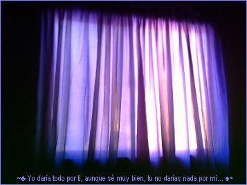 cortinas azules by Poaru
