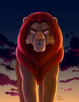 King of Pride Rock by EepiArt