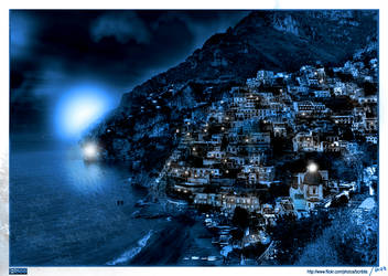 Lost City Matte Painting by chuckacosta