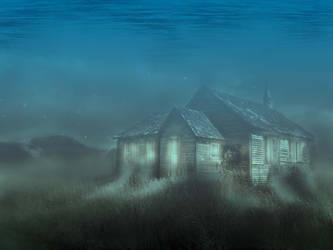 Underwater Scene by chuckacosta
