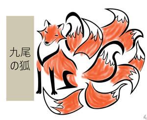 Kitsune-The Legendary Nine-Tailed Fox
