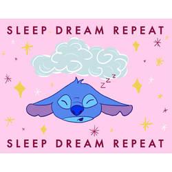 Stitch Sleep Dream Repeat