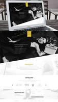 Global agency - Website concept by DABEstudio