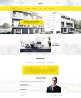 Real estate - web design by DABEstudio