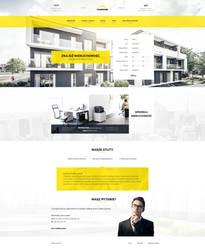 Real estate - web design by DABEstudio