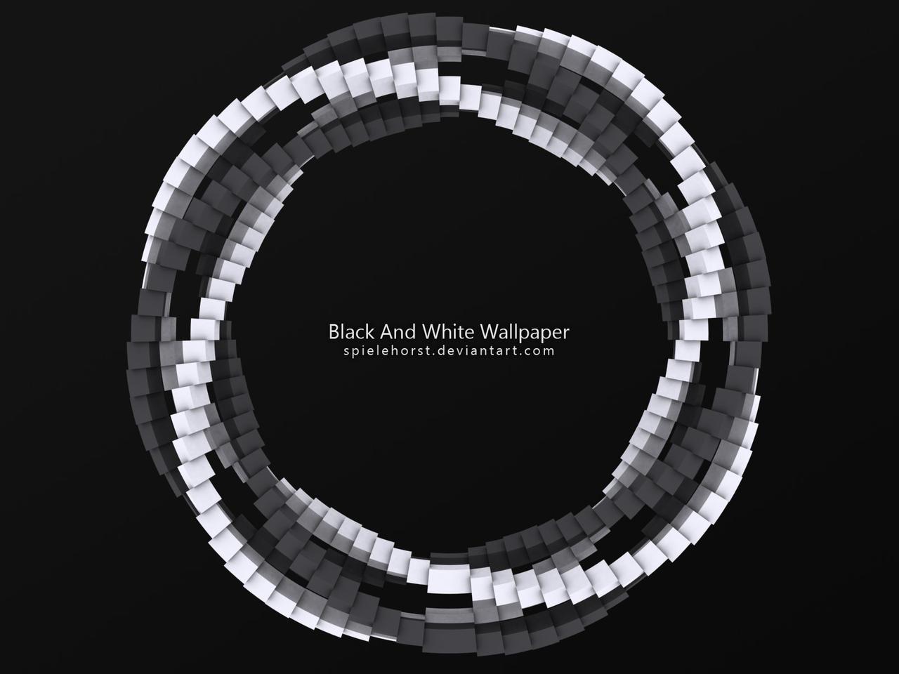 black and white spiel
