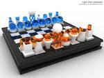 Light Chess Wallpaper