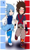 .:KH:BBS:.:Terra and Aqua:. by KickBass77