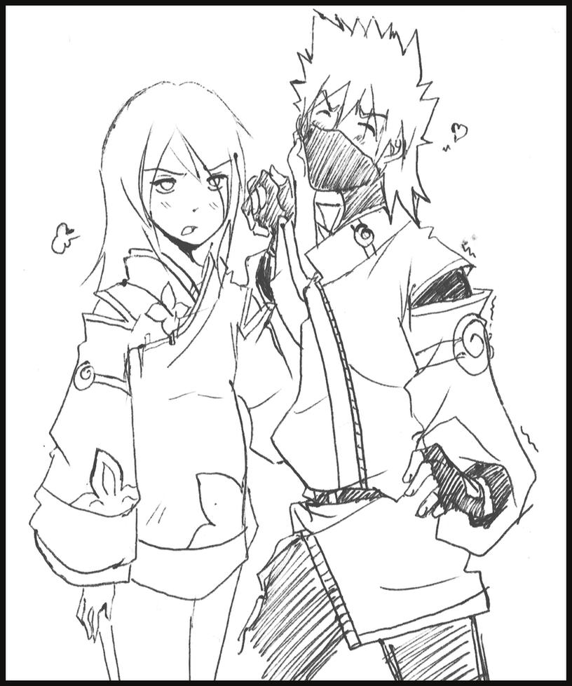 Kakashi and Anko - 02 by KickBass77