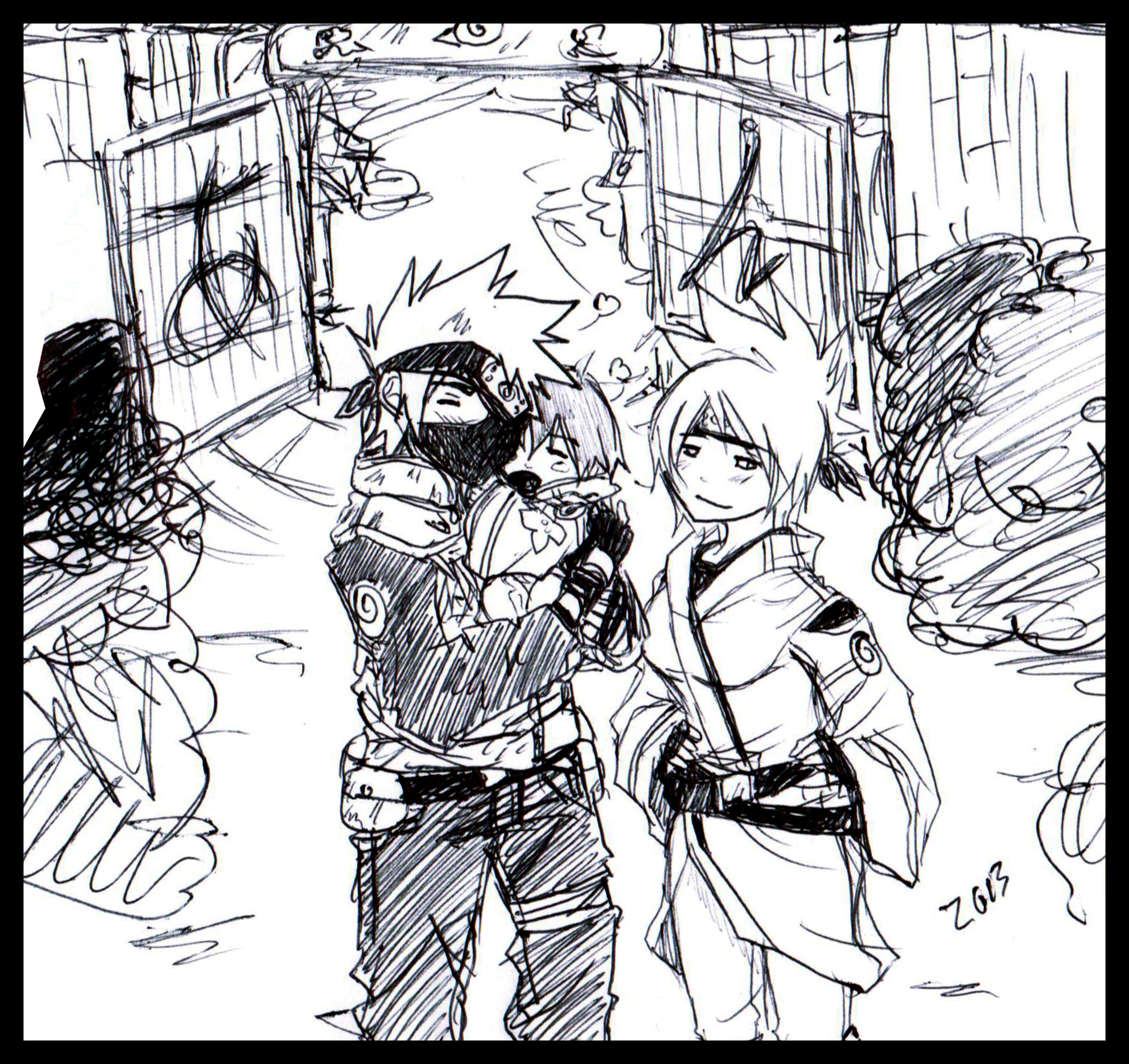 Kakashi and Anko - Welcome Home by KickBass77
