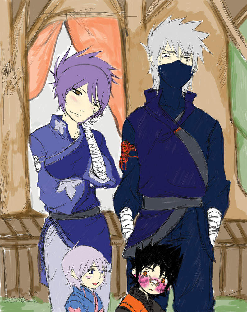 Kakashi and Anko : To soon.... by KickBass77 on DeviantArt