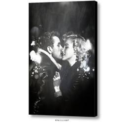 James Dean + Marilyn Monroe, KISS brailliant.com