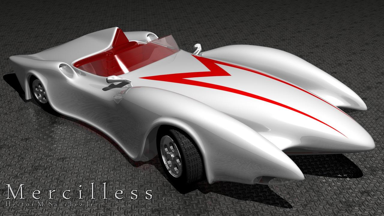 Speed Racer Mach 6 Wallpaper Speed racer mach 5 v-2.0 by Speedracer