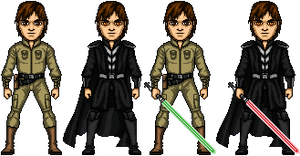 Jacen Solo aka Darth Caedus by cptmeatman