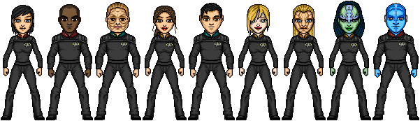 Crew of the USS Aventine by cptmeatman