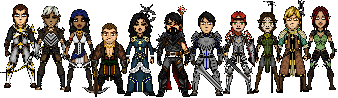Champions of Kirkwall by cptmeatman