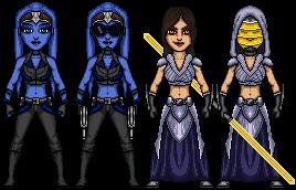 Sith Warrior Companions by cptmeatman