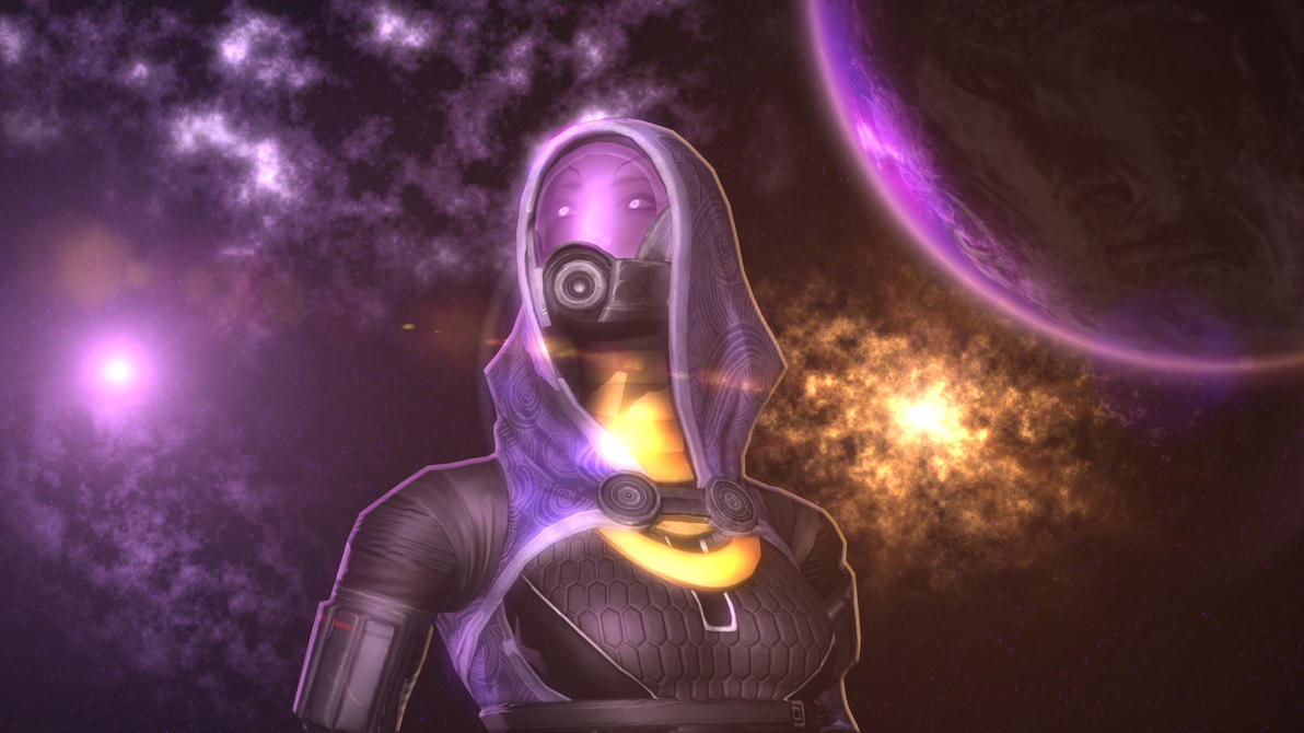Tali - The endless sky by SlipperyHammer