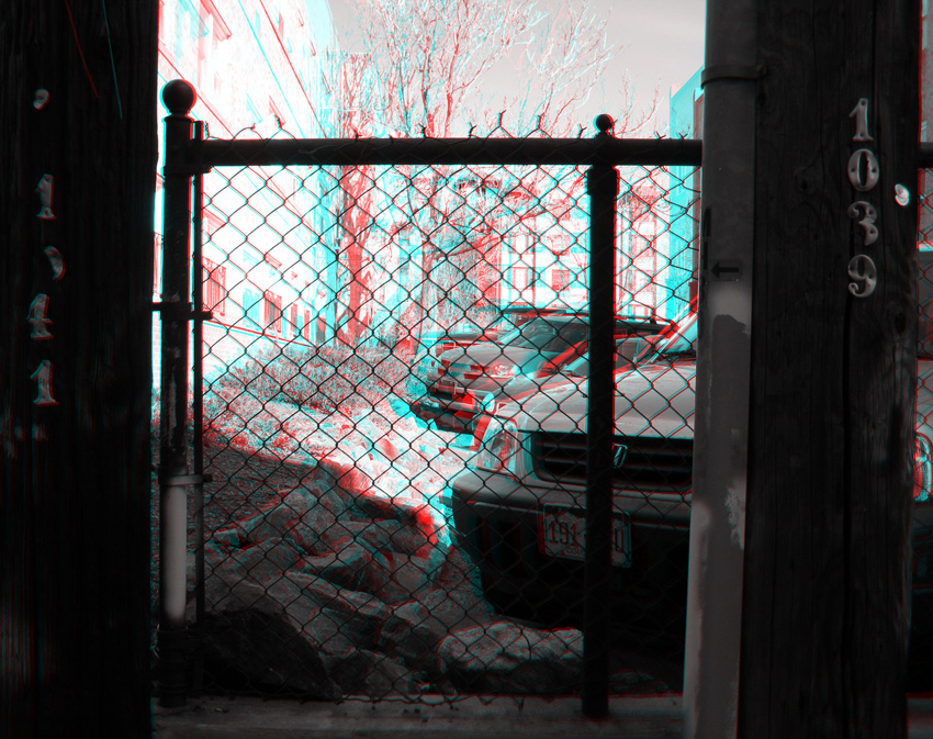 Chainlink Anaglyph