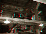 The Old Stamp Mill - Anaglyph