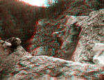 Clear Creek Canyon - Anaglyph