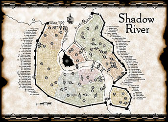 Shadow River - Main City Map by Temphis