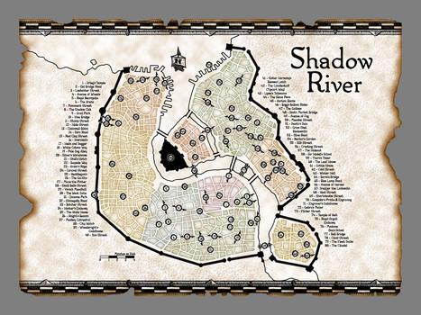 Shadow River - Main City Map