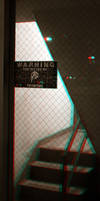 Protected by Pinkerton - Anaglyph