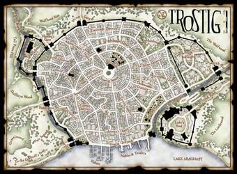 Trostig Town Plan (Side A) by Temphis