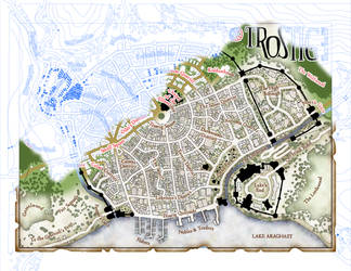 Trostig Town Plan: Meat and Bones by Temphis