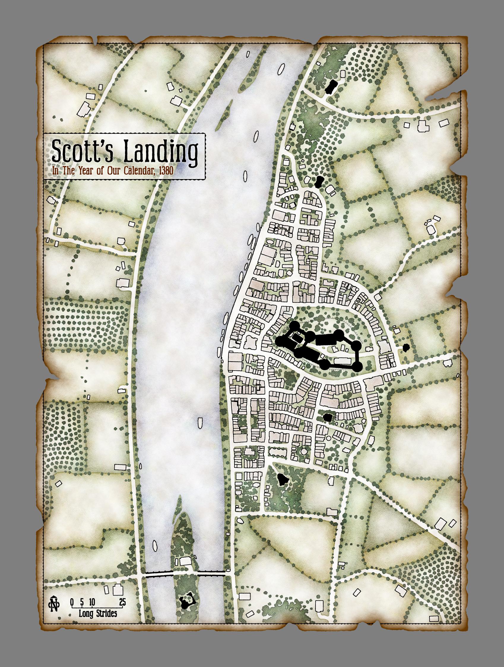 Scott's Landing Town Plan (Uresia)