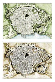 Trostig Map - Two Alternate Takes