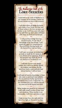 Uresia - Malbarion Oath of the Loreseekers