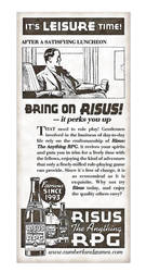 Risus The Anything RPG 1930s Style Ad by Temphis