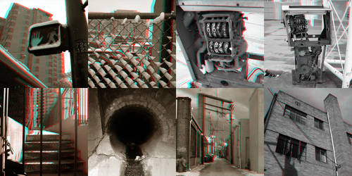 Anaglyph - Sherman Street Days by Temphis