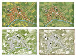 Four Lives of a Town Map