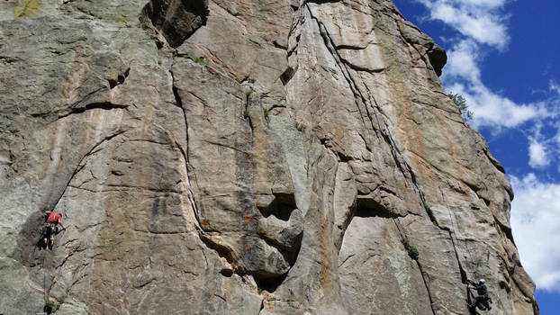Notice the Climbers After A Second