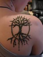 Tree of Life henna by izzi-poems