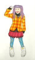 Fruits Fashion Chick by izzi-poems