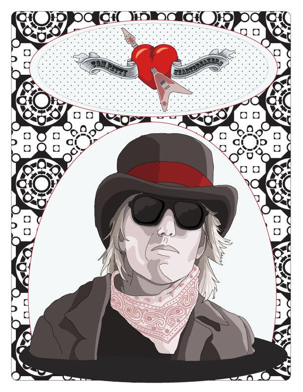 Tom Petty Poster by izzi-poems on deviantART