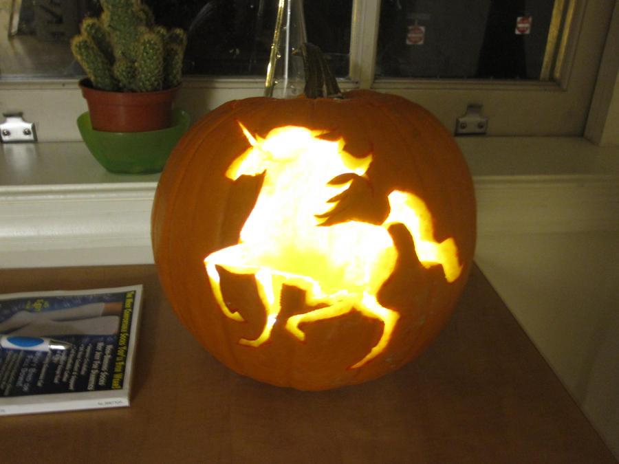 Unicorn Pumpkin Carving Unicorn Pumpkin by Izzi Poems