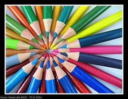Colour Wheel by meendee