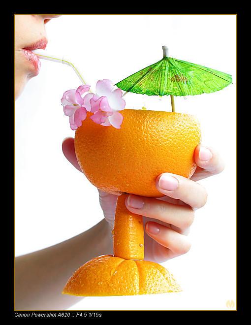 Orange Cocktail by meendee
