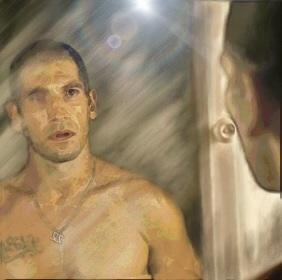 Shane Walsh The Walking Dead Mirror by Sandy-reaper