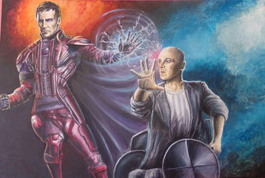 Magneto - Charles Xavier Xmen Apocalypse by Sandy-reaper