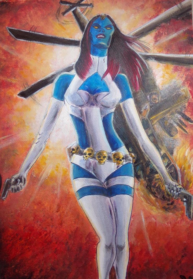 Mystique comics by Sandy-reaper